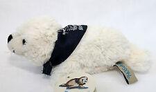 Seehund Robbe 18cm Beige FLAPSCH superweiches Plüschtier mit Halstuch MOIN MOIN