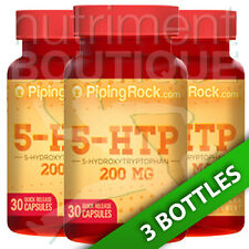 5-HTP 5-Hydroxytryptophan 200MG 3X30 Caps by Piping Rock