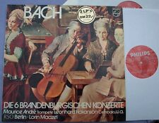 BACH Brandenburg Concertos MAAZEL Philips NEAR MINT GERMANY 2 x LP