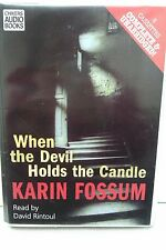 When the Devil Holds the Candle by K Fossum: Unabridged Cassette Audiobook (FF4)