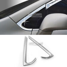 Window A Pillar Chrome Molding Garnish Cover Guard for KIA 2007-13 Rondo Carens