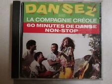 DANSEZ LA COMPAGNIE CREOLE 60 MINUTES DE DANSE NON-STOP USED 26 TRACK IMPORT CD
