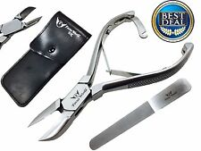FW®- Professional Toe Nail Clipper Cutter Nipper Chiropody Heavy Duty Thick Nail