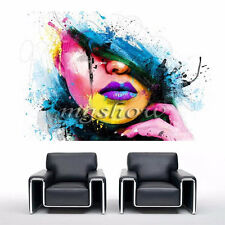 Abstract Girl Unframed Canvas Prints Modern Home Decor Wall Art Picture Room New