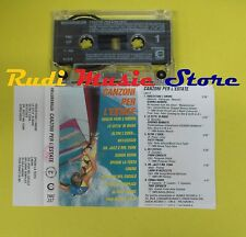 MC CANZONI PER L'ESTATE 1989 compilation NANNINI BENNATO STADIO no cd lp dvd vhs