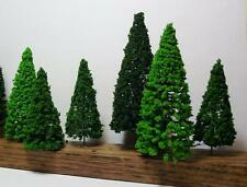 Multi Scale Use-Authentic Scenery-7 Pc Set-Detailed Pine Trees-3 Colors-3 Sizes