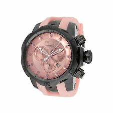 New Mens Invicta 11965 Venom Reserve Swiss Made Chronograph Pink Dial Pink Watch