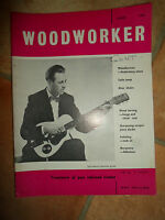Woodworker June 1962 ~ Retro Vintage Illustrated Magazine + Advertising