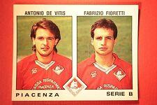 Panini Calciatori 1991/92 N 515 PIACENZA DE VITIS FIORETTI OTTIMA