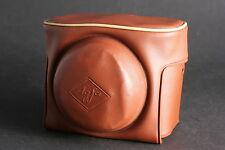 Agfa 6042/030 Tasche Kameratasche braun für Agfa Clack; gebr.+Überweisung bitte!