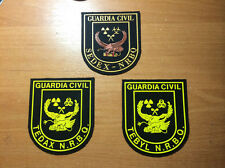 PATCH POLICE SPAIN - BOMB EOD SAPPER - ORIGINAL! Lot 3 patches