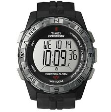 Brand New Timex Men's Rugged Digital CAT Vibration Alarm Watch Black T49851