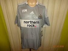 "Newcastle United Adidas Trikot 08/09 ""northern rock."" + Nr.30 Gutièrrez Gr.L Neu"