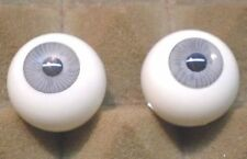 "pair of acrylic eyes grey paperweight 0.87""/ 22 mm"