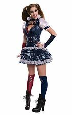 Secret Wishes Women's Arkham Knight Harley Quinn Costume Multi Medium