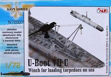 CMK 1/72 U-Boat VII C Winch for Loading Torpedoes At Sea 72007
