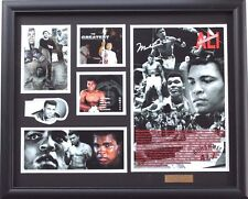 New Muhammad Ali Signed Limited Edition Memorabilia Framed