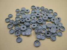 Screw covers screw caps hinged,dove(mid)grey,pack 100, to fit no.6 & no.8 screws