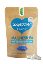 TOGETHER HEALTH  Ocean Pure MAGNESIUM  from Natural Marine Salts * 30 Vegecaps