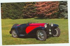 1932 Bugatti Type 55 Super Sport Roadster (unmailed postcard(autoB#157*2