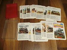 QUARTETT:   SUPER TOP TRUMPF    DAMPFLOKS / von Berliner Spielkarten