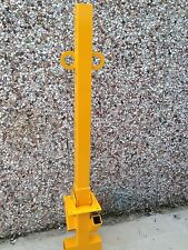 1 METRE! Tall Folding Security Post Parking Bollard
