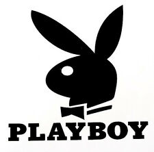 Bunny Playboy Decal- Window sticker Car, RV, Truck, Fun Outdoor Vinyl Decal