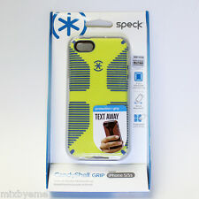 #1 Speck APPLE iPhone 5 5S Case candyshell Grip Yellow/blue Shell Cover Bumper