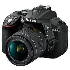 """Nikon D5300 Digital SLR Camera HD 1080P 24.2MP Wi-Fi 3.2"""" Screen (IR:267375)"""
