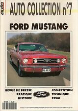 AUTO COLLECTION 7 FORD MUSTANG COUPE FASTBACK & FORD MUSTANG CABRIOLET 1964 1966
