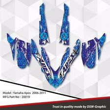 *NEW* SLED GRAPHIC KIT GRAPHICS WRAP FOR YAMAHA APEX 2006-2011 20019