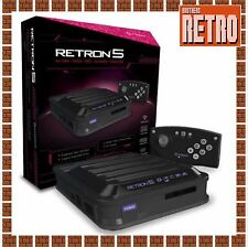 Hyperkin RetroN 5 Gaming Console (Black) NES, SNES, Genesis/Mega Drive, Gameboy