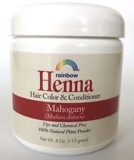 Rainbow Research - Henna Mahogany (Medium Auburn), Hair color & Conditioner, 4Oz