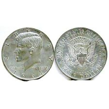 1964 KENNEDY WITH PRESIDENTIAL SEAL JUMBO COIN PAPERWEIGHT NEW