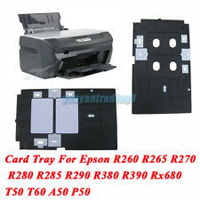 Plastic PVC ID Card Tray For Epson Inkjet Printer R390 Rx680 EP705 L800 L801 635