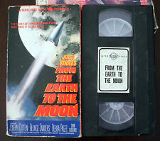VHS: Jules Verne's From the Earth to the Moon: verne Interglobal Canada Canadian