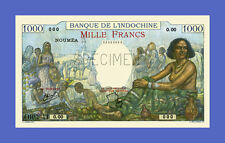 NOUMEA Indochine - 1000 FRANCS 1943s - Reproductions