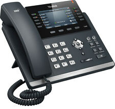 Yealink T46G 16 Line VoIP HD Voice IP Phone with Bluetooth Headset BT40 Adapter