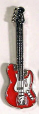 FENDER RED GUITAR PIN BADGE NEW STYLE JUST IN