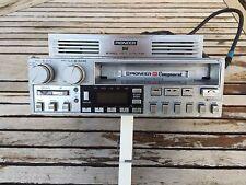 Autoradio vintage Pioneer KEX-73 con GM-4 d'epoca