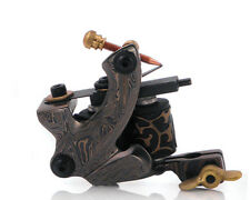 Damascus Series AGGRESSOR (LINER) 8-Wrap Short Coil Tattoo Machine Steel Supply