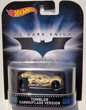 HOT WHEELS 2015 RETRO ENTERTAINMENT THE DARK KNIGHT TRILOGY TUMBLER CAMOUFLAGE V