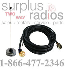 UHF NMO 410-490Mhz Vehicle Antenna Kit Motorola Mobile CM200 CM300 PM400 CDM1250