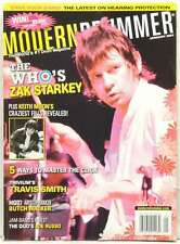 MODERN DRUMMER MAGAZINE ZAK STARKEY THE WHO KEITH MOON TRAVIS SMITH JOE RUS