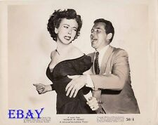Ida Lupino roughed up Howard Duff VINTAGE Photo Woman In Hiding