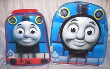 """Thomas the Train 12"""" Backpack by Hit Entertainment + matching lunch box combo"""