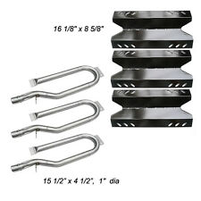 Outdoor Gourmet Gas Grill Repair Kit Replacement Burners and Heat Plates