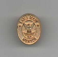 Eagle Scout Mentor Recognition Pin, Oval Gold-Toned Metal, Mint!