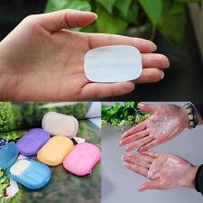 Color de caramelo portátil papel limpia Manos Jabón viaje blanquea mjhk