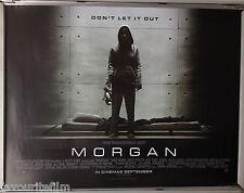 Cinema Poster: MORGAN 2016 (Quad) Kate Mara Anya Taylor-Joy Rose Leslie
